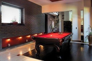 Pool table room sizes in Santa Fe