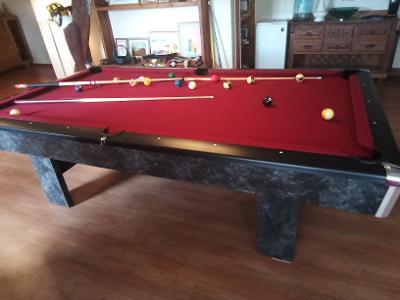 "Brunswick 8"" Slate Pool Table"